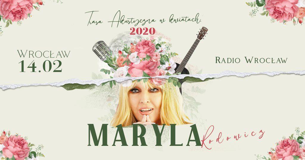 Maryla Rodowicz we Wrocławiu! Koncert Walentynkowy #Maryla2020