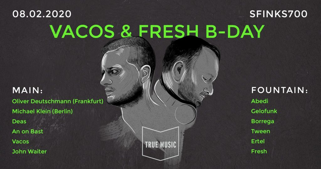 Vacos & Fresh B-Day / Deutschmann / Klein / DEAS / An On Bast