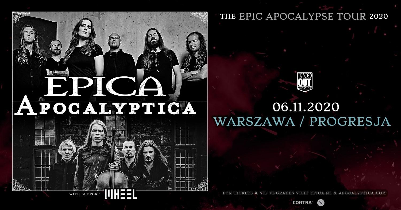 Epica, Apocalyptica + Wheel / 6 XI / Warszawa