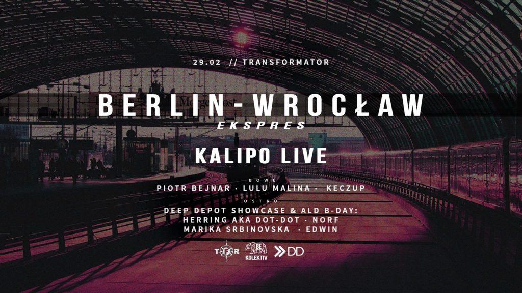 Berlin Wrocław Ekspres #10: Kalipo live / TFR