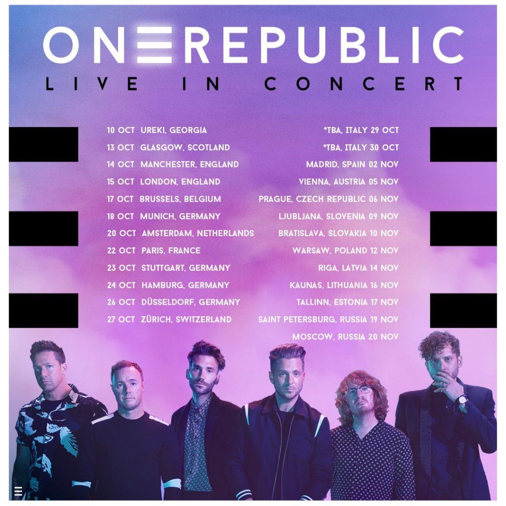 OneRepublic w Polsce