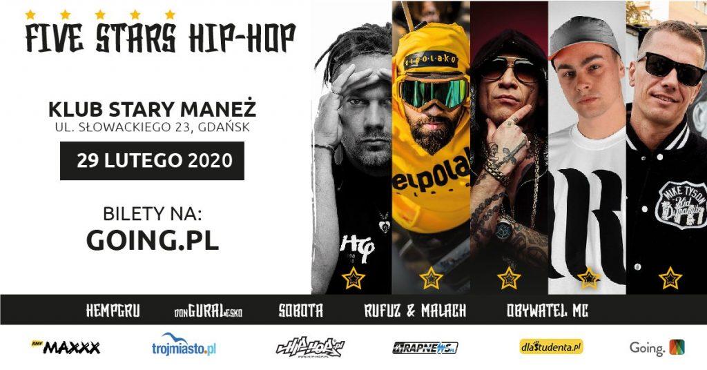 Five Stars Hip-Hop Gdańsk 2020