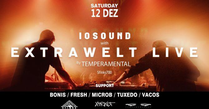 IOSound w/ EXTRAWELT LIVE by Temperamental