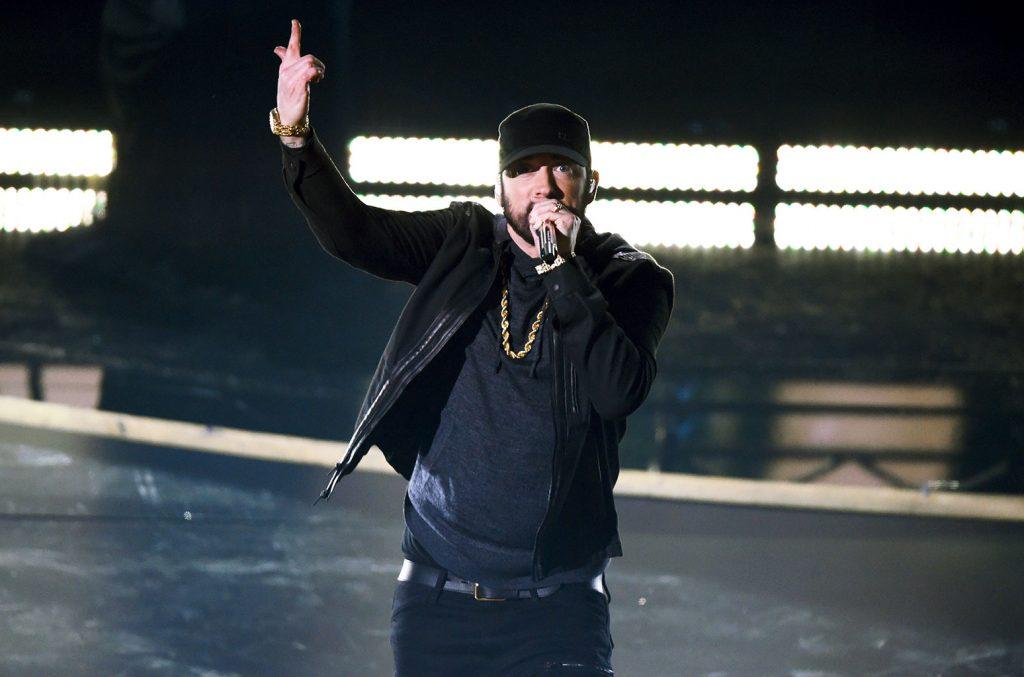 niespodziewany występ Eminema na Oscarach 2020