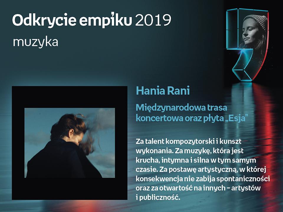 Bestsellery Empiku 2019 Hania Rani