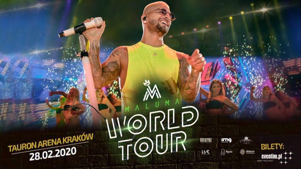 Maluma Official Event, Tauron Arena, 28.02.2020