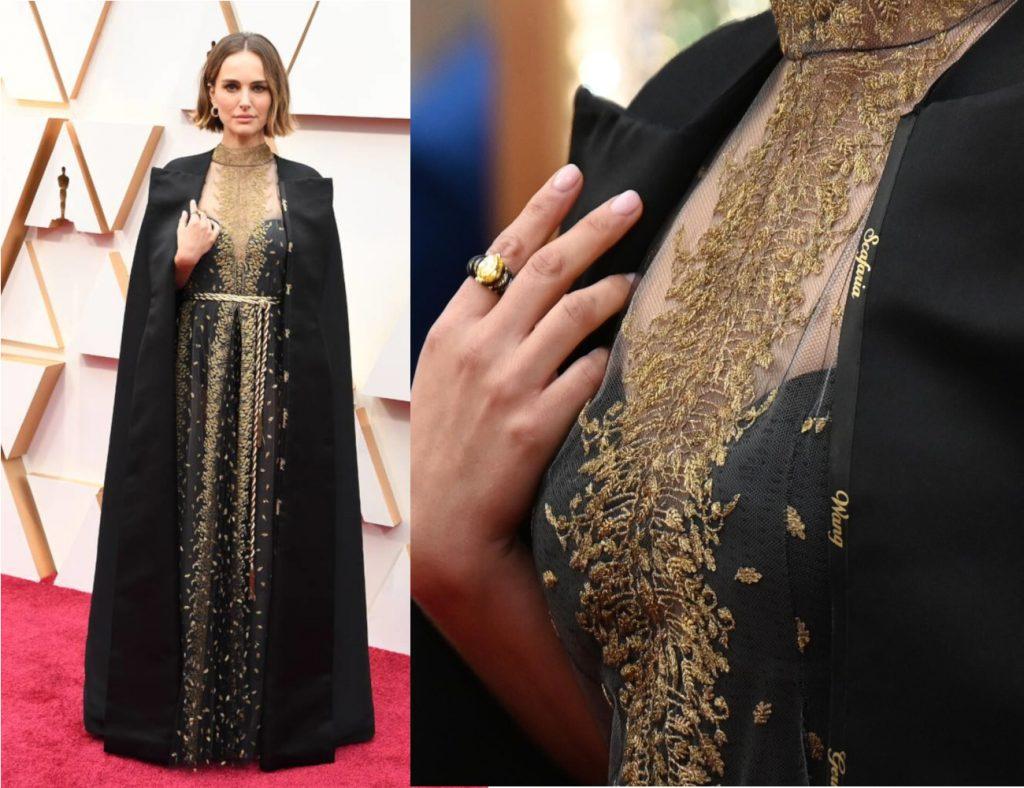 Natalie Portman na Oscarach 2020