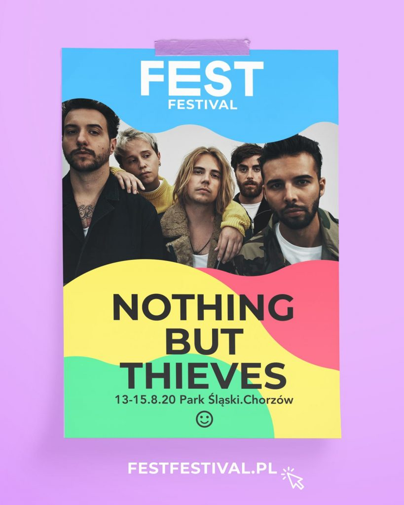 Nothing But Thieves na FEST Festival 2020