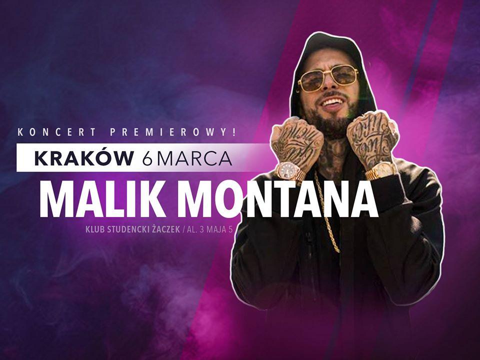 MALIK Montana w Krakowie !