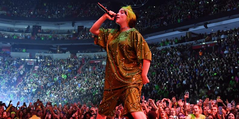 Billie Eilish przekłada trasę koncertową