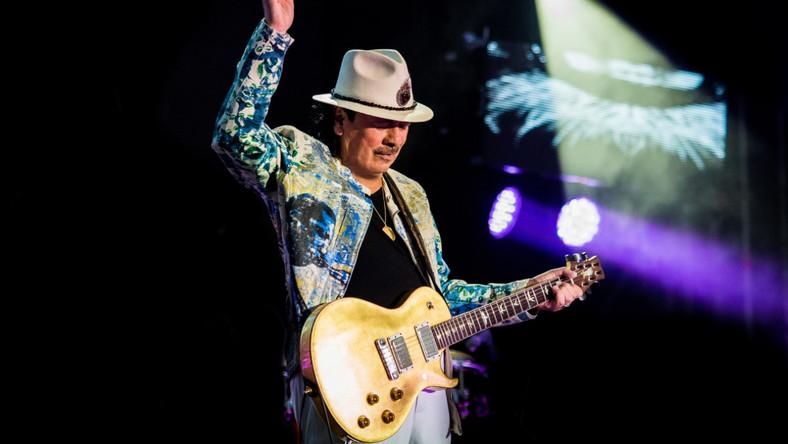 Carlos Santana odwołuje koncert w Polsce