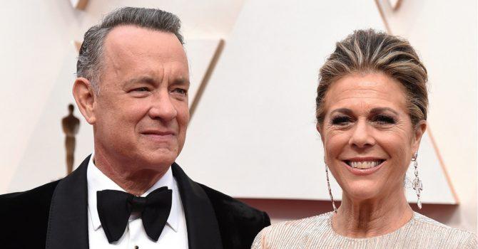 Tom Hanks i jego żona zakażeni koronawirusem w Australii