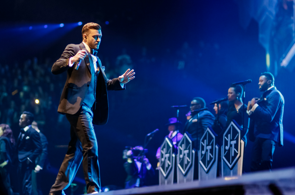 Justin Timberlake koncert online