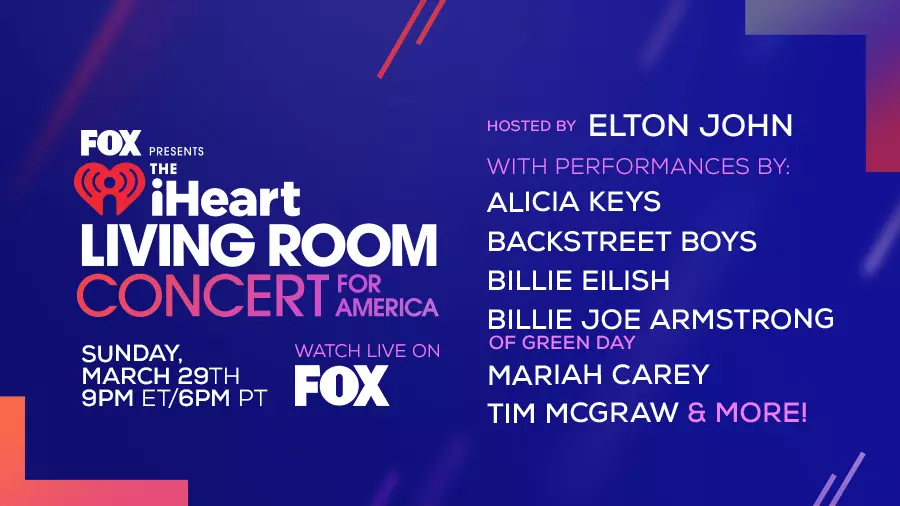 iHeartRadio Living Room Concert For America