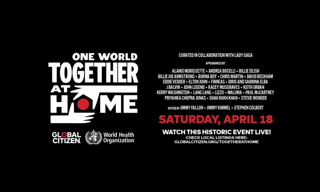 koncert One World Together At Home