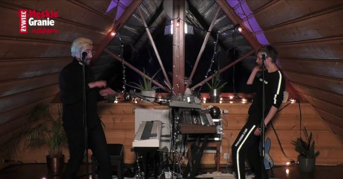 Bass Astral x Igo zagrali w ramach cyklu koncertów online Męskie Granie #wdomu