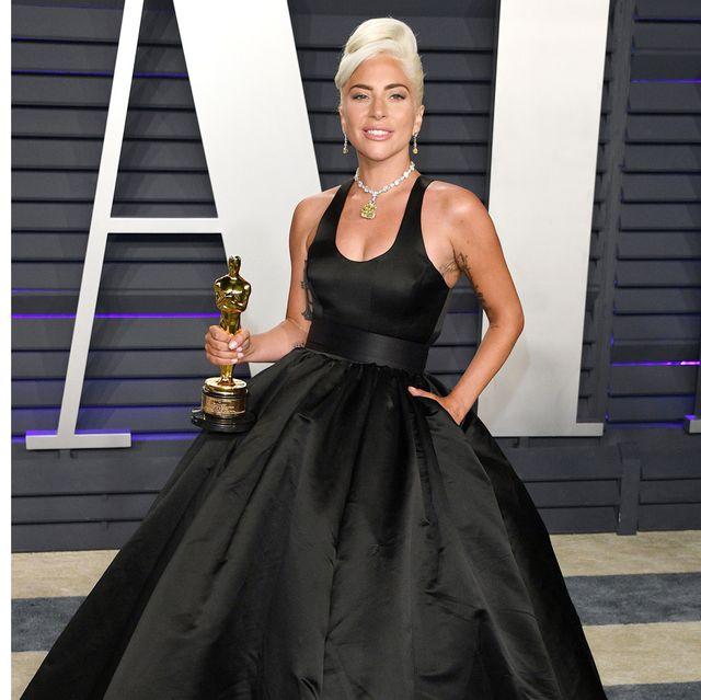 Lady Gaga z Oscarem za film Narodziny Gwiazdy