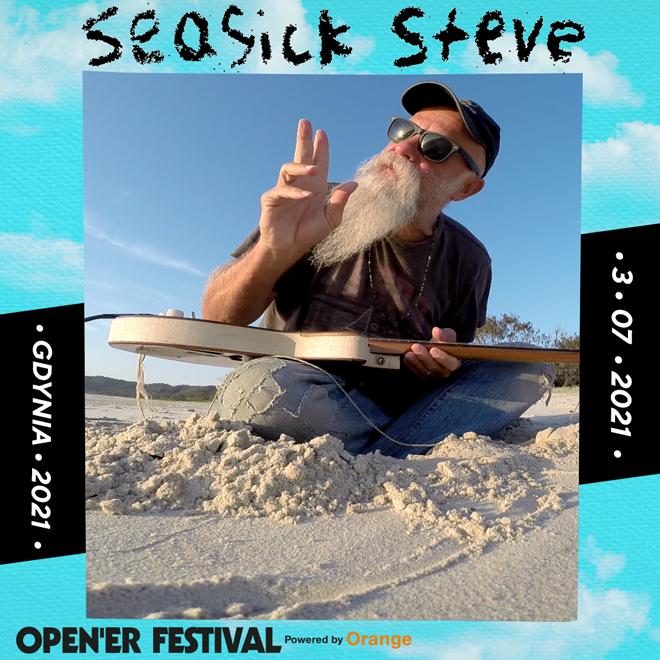 Opener Festival 2021 Seasick Steve