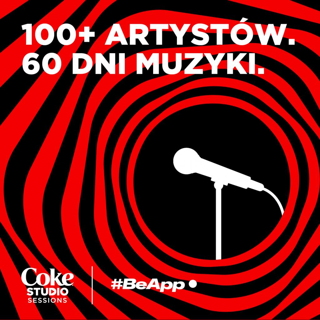 Coca-Cola i #BeApp ruszają z serią koncertów Coke Studio Sessions