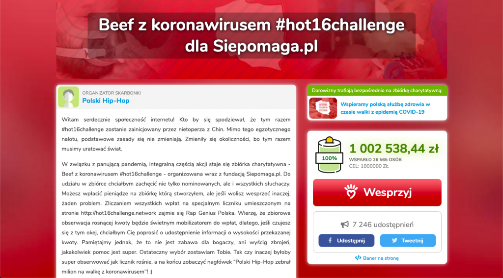 #Hot16challenge2