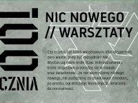 Nic nowego // cykl less waste