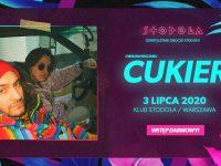 Cukier - koncert premierowy, 03.07.2020 // Wstęp darmowy