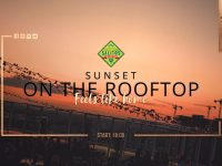 Sunset on the rooftop - Feels like home
