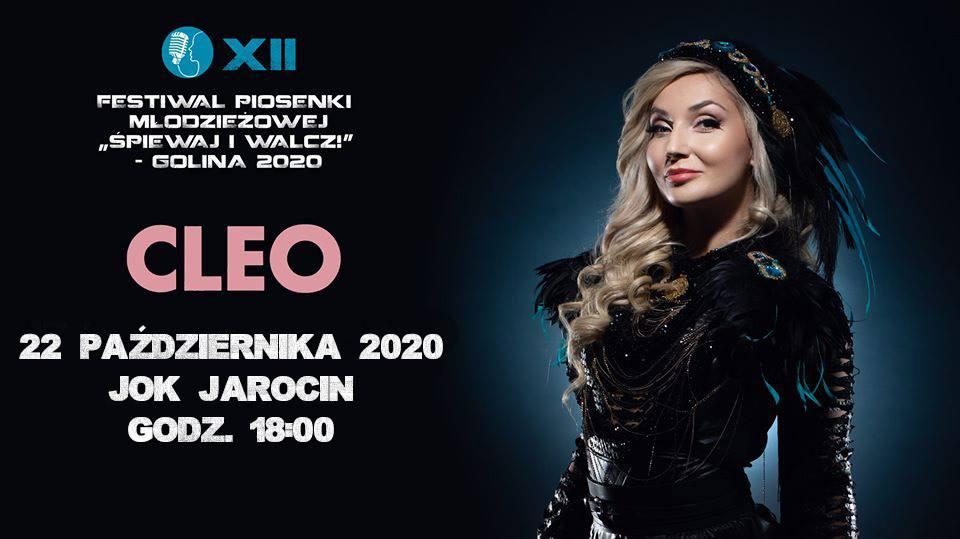 Cleo wystąpi podczas Festiwalu Piosenki Młodzieżowej w Jarocinie
