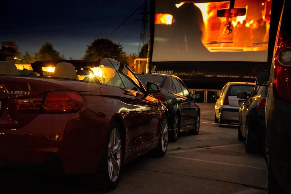 Kino Samochodowe Ferment: ERGO Arena