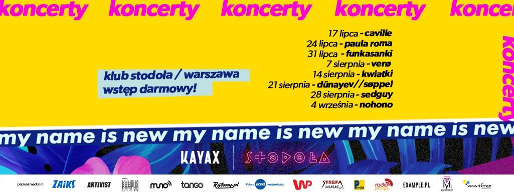 festiwal my name is new koncerty