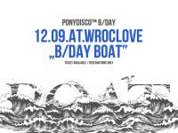 Ponydisco™ Big Birthday Boat At Wroclove