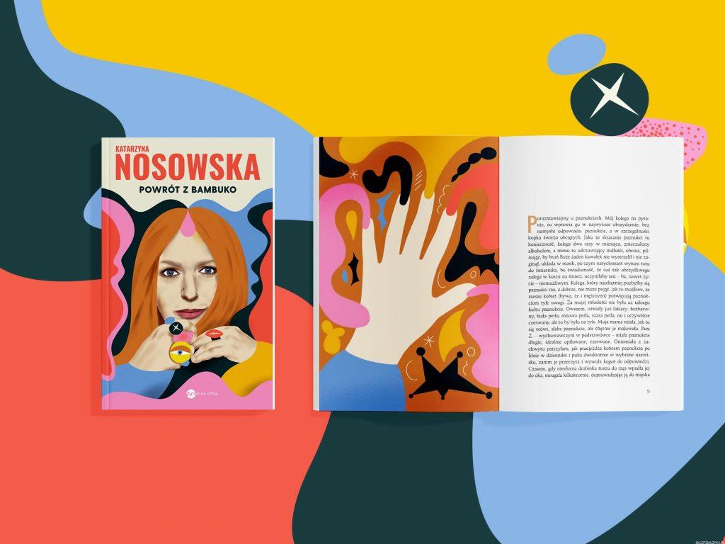 """Katarzyna Nosowska zapowiada nową książkę """"Powrót z Bambuko"""""""
