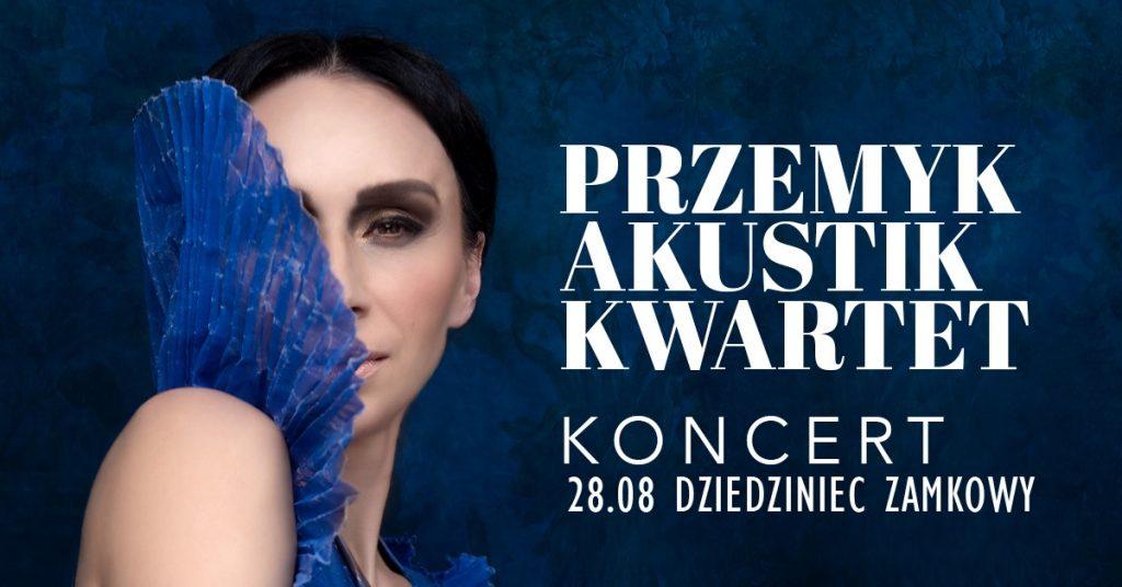 Renata Przemyk na Dziedzińcu Zamkowym