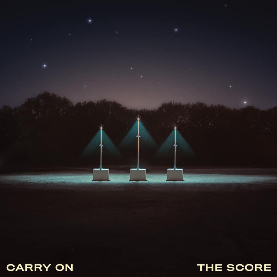 "The Score - ""Carry On"" okładka albumu"