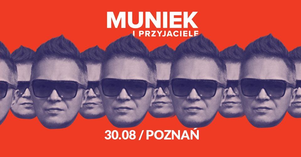 Muniek na Dziedzińcu Zamkowym w Poznaniu
