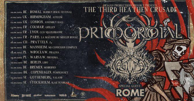 Heathen Crusade 2021 - Primordial, Naglfar, Rome | Wrocław