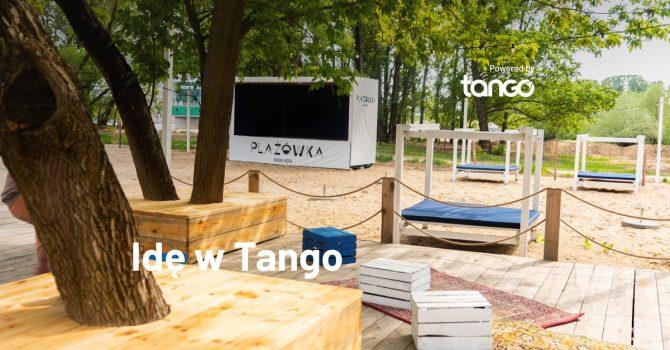 Idę w Tango: Plażówka Saska, Warszawa