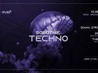 Sobotnie Techno: Diana D'Rouze | Patio Protokultura