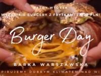 Wtorek nad Wisłą: Burger Day!