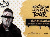 Bonson w Lublinie - 27.11 - KRÓLU ZŁOTY TOUR