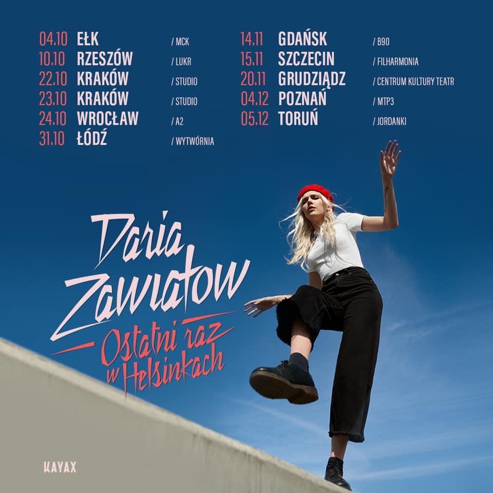 Daria Zawiałow Ostatni Raz w Helsinkach