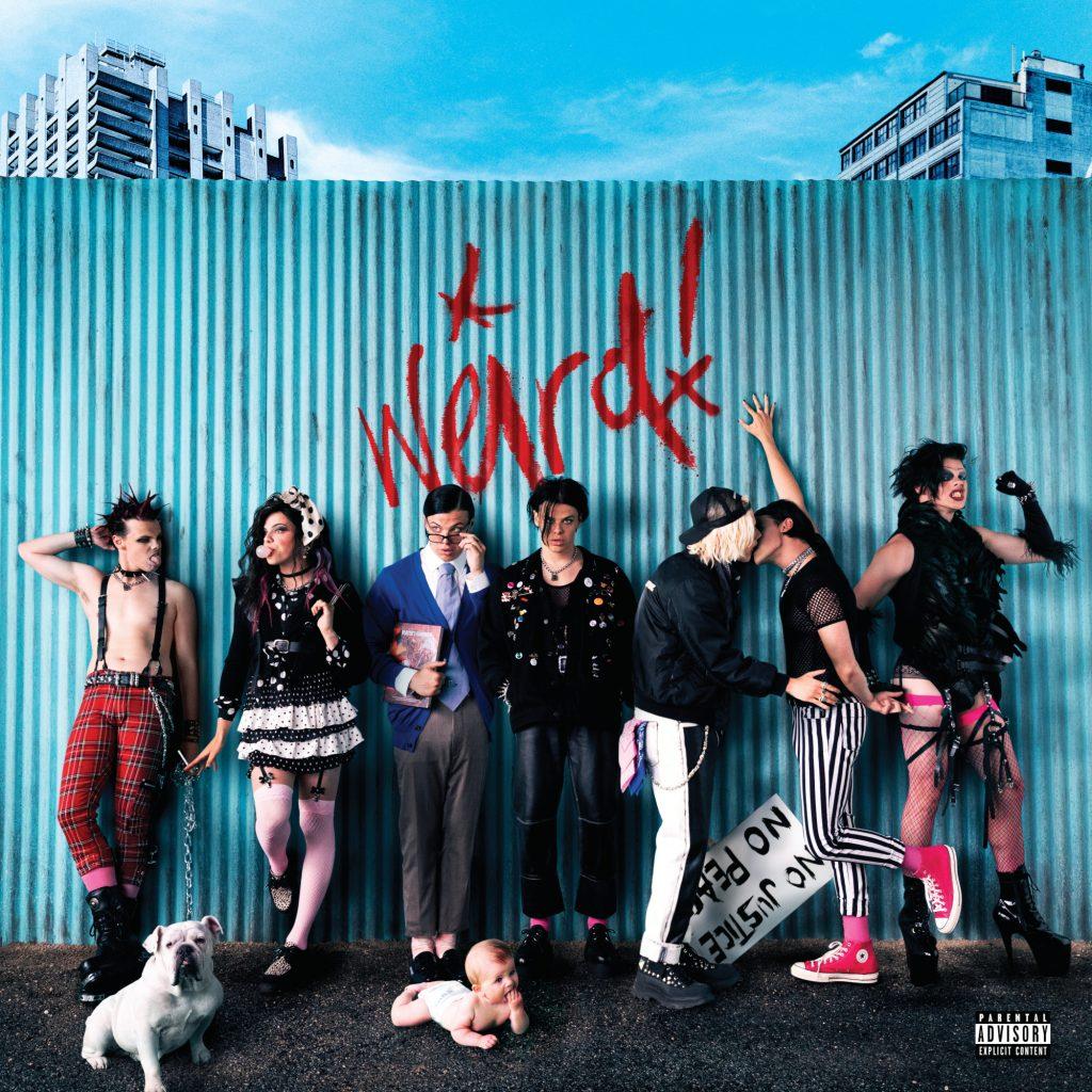 YUNGBLUD Weird! okładka albumu