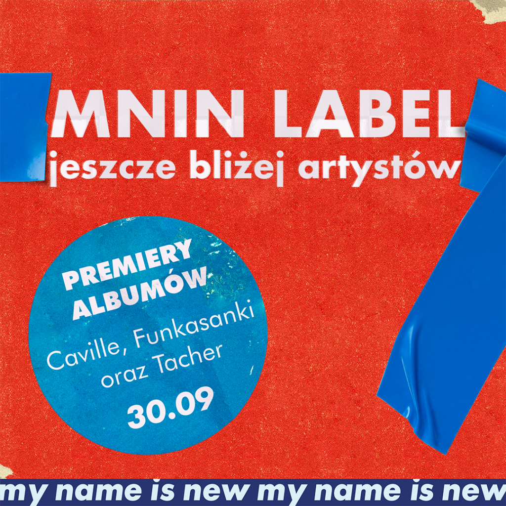 My Name Is New label