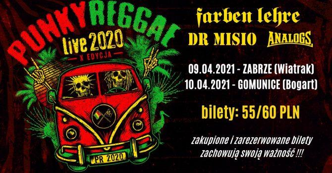 PUNKY REGGAE live 2020 - Tychy