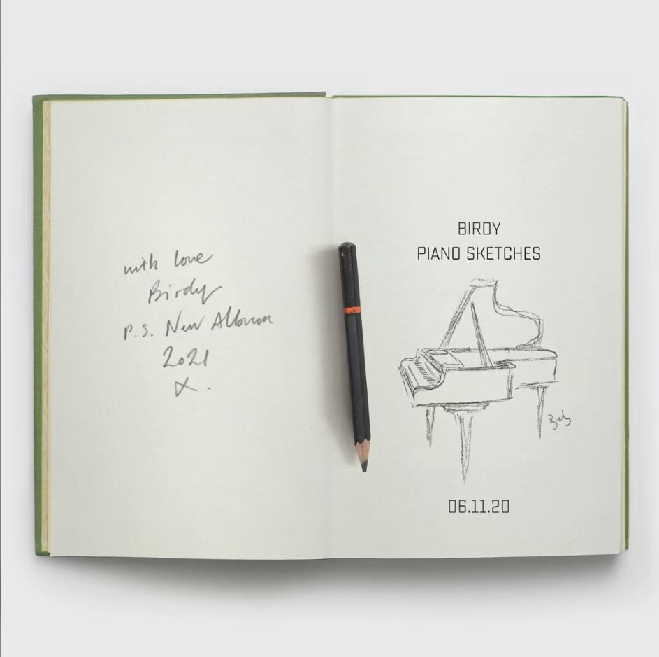 birdy piano sketches