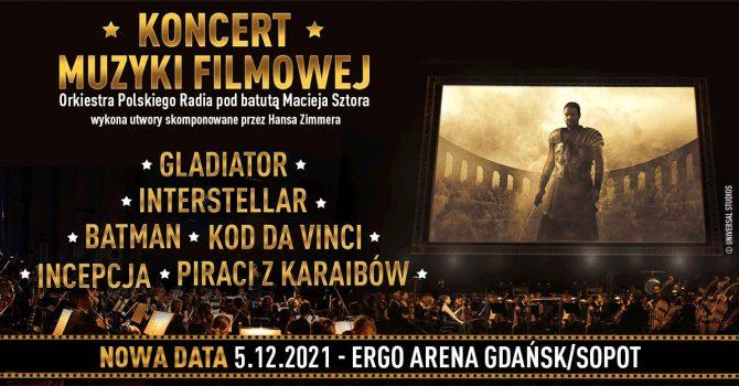 Koncert Muzyki Filmowej z utworami Hansa Zimmera