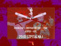 Wpierdol Halloween - PiNE / Ordynator DBK / doublexx / KRL / Asper