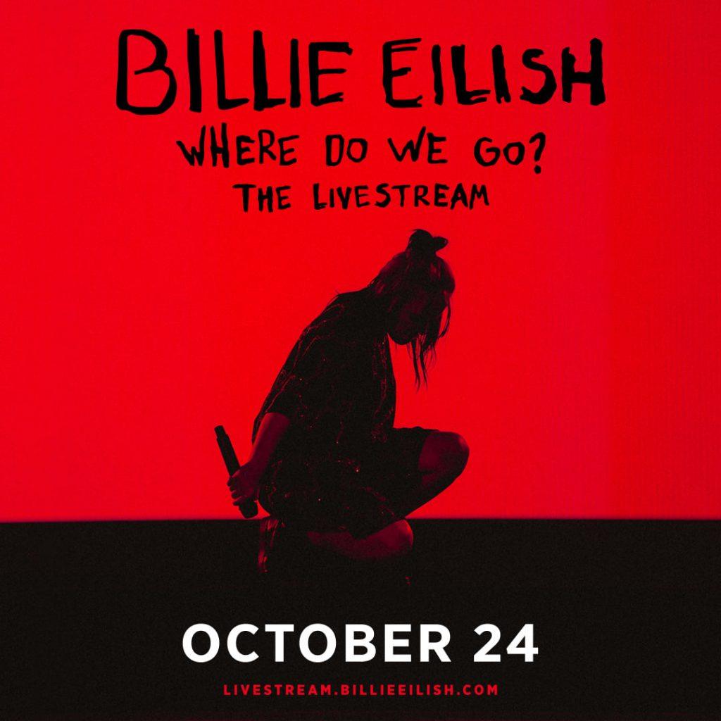 Billie Eilish livestream