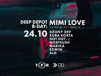 Deep Depot 5th B-Day with MIMI LOVE (Kater Blau, Berlin)