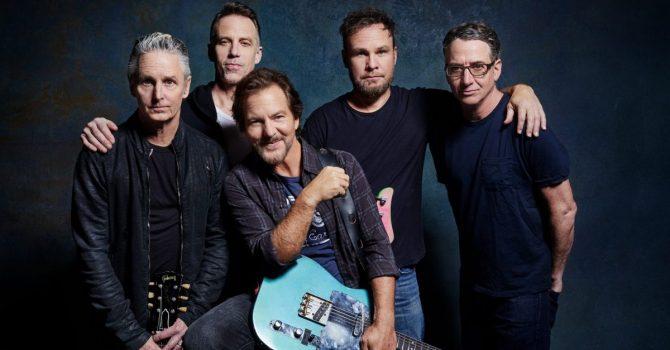 Koncert online, album MTV Unplugged i nowy singiel od Pearl Jam